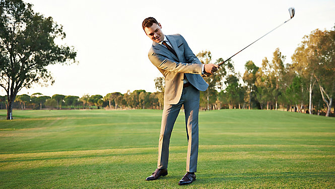 Martin Kaymer's golf tips Tee off! - eMAG HUGO BOSS
