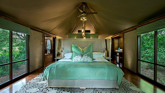 First class time out Glamping in Africa's wilderness - eMAG HUGO BOSS