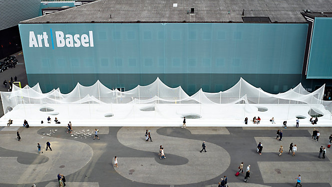 BASEL AT ITS BEST ART BASEL IMPRESSIONEN - eMAG HUGO BOSS