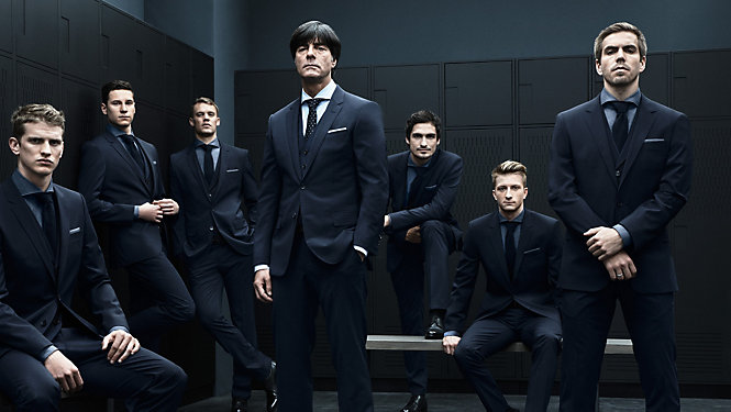 WORLD CHAMPIONS WITH STYLE THE GERMAN NATIONAL SQUAD - eMAG HUGO BOSS