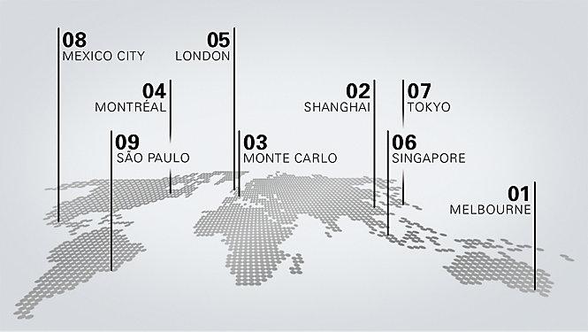 你的城市 你的景点 你的风格 伴随 F1,走遍全球 - eMAG HUGO BOSS