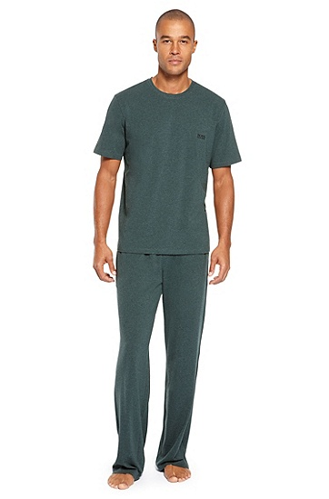 Cotton T-Shirt & Lounge Pants,