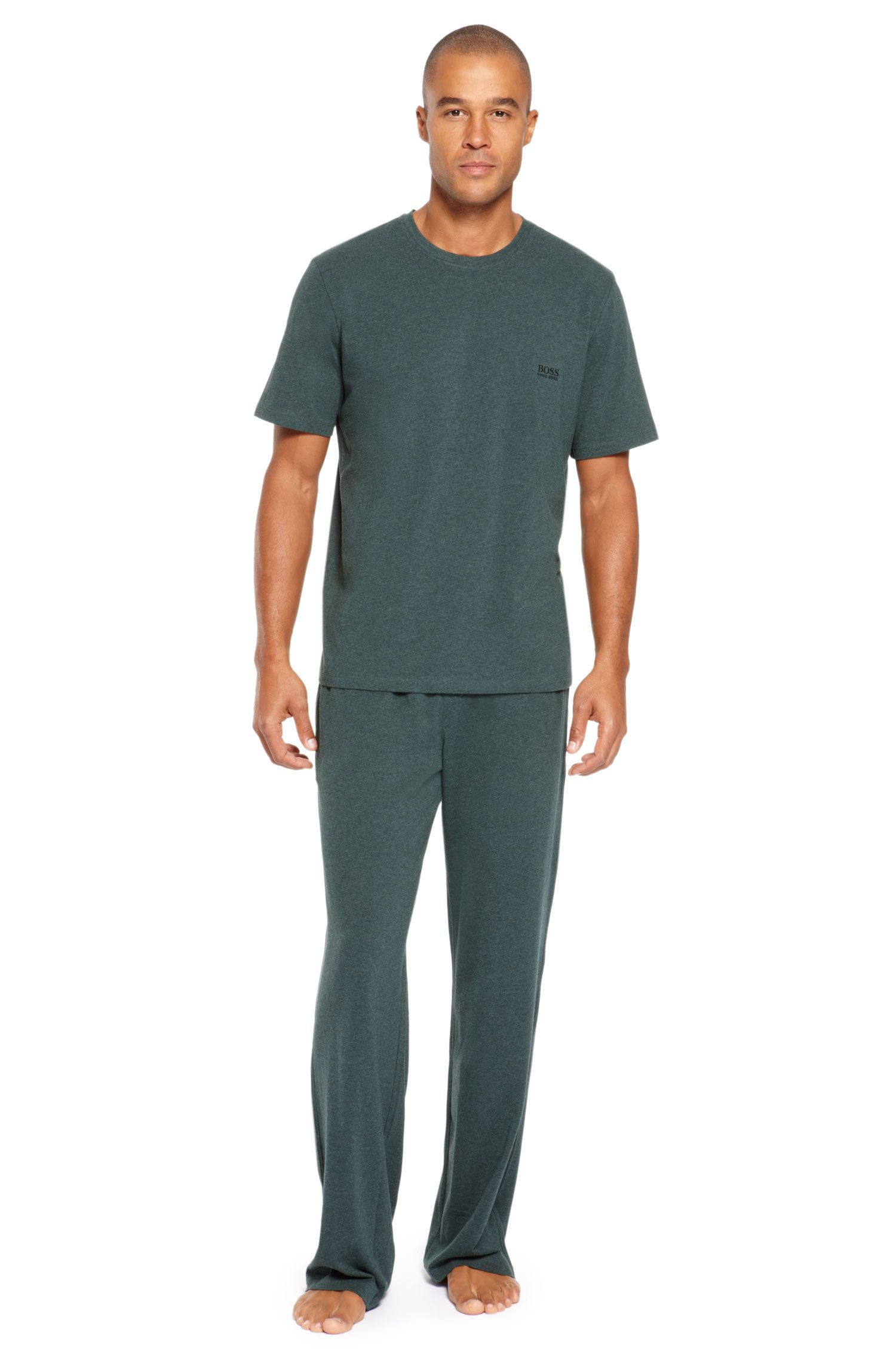 Cotton T-Shirt & Lounge Pants