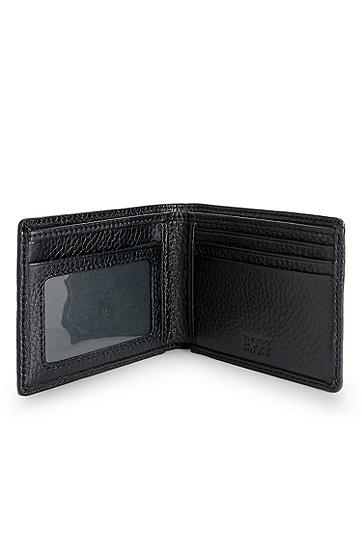 'Beckley'   Leather Wallet, Black