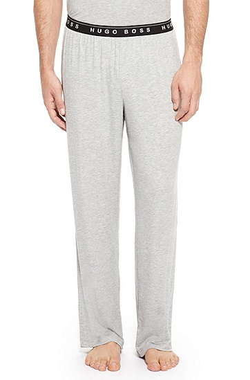'Long Pant BM' | Stretch Modal Lounge Pants, Grey