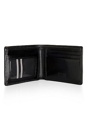 'Bengio' | Leather Wallet, Black