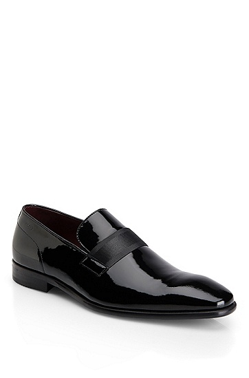 'Mellion' | Patent Leather Dress Shoe, Black