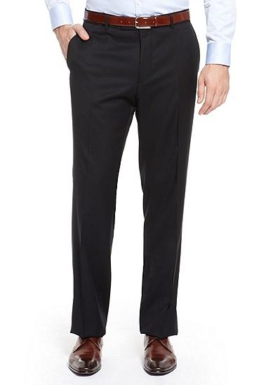 'Pasolini/Movie' | Comfort Fit, Super 100 Virgin Wool Suit, Dark Blue
