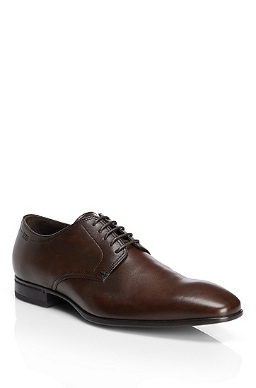 'Veros' | Calfskin Oxford Dress Shoes, Brown
