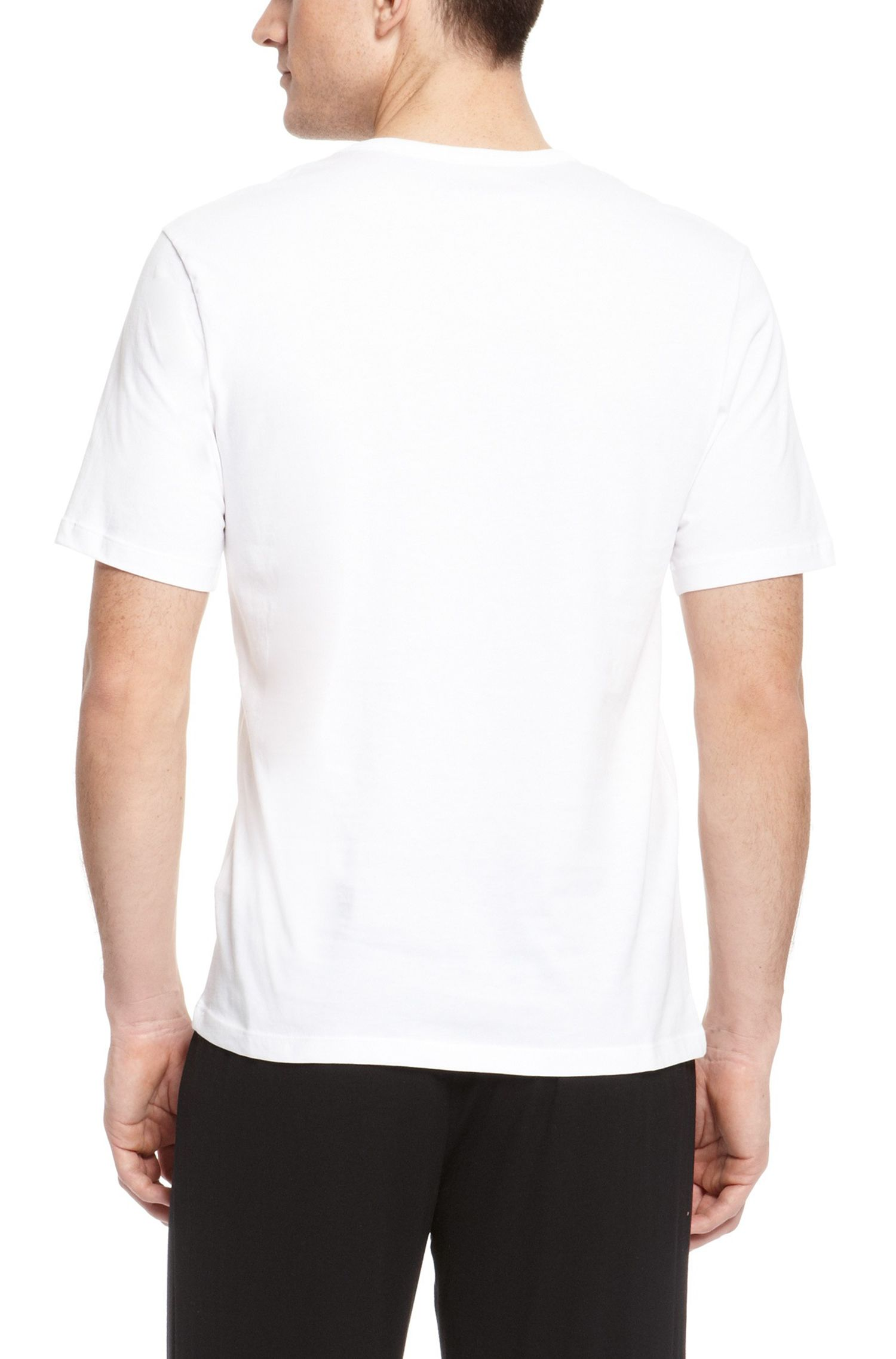 'Shirt' | Cotton Crewneck Undershirt, 3-Pack