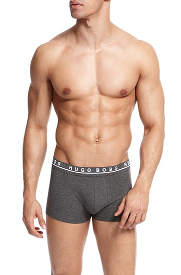 'Trunk' | Stretch Cotton Trunk, 3-Pack, Open Grey