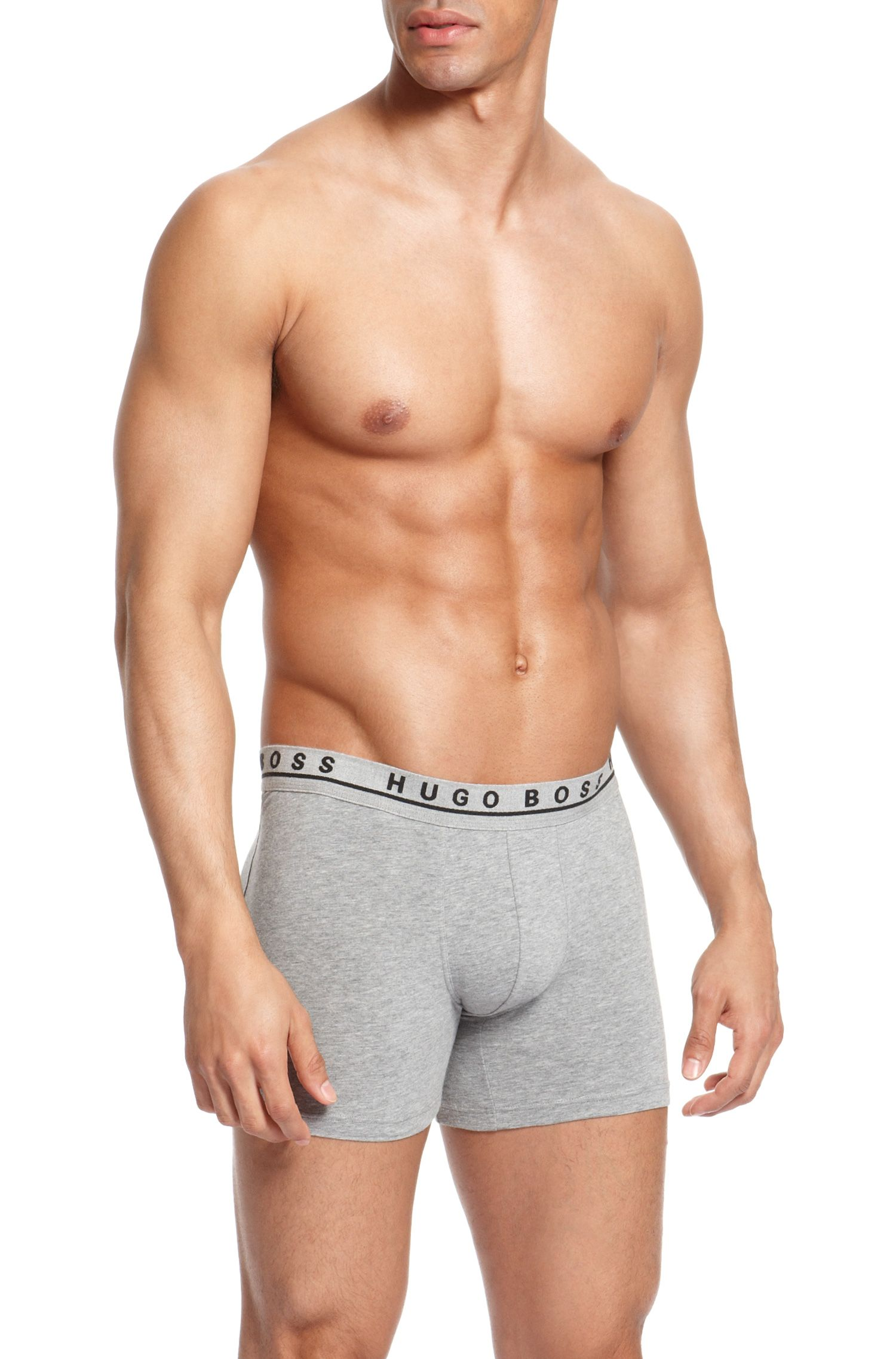 'Cyclist 3P BM' | Stretch Cotton Boxer Brief, 3-Pack