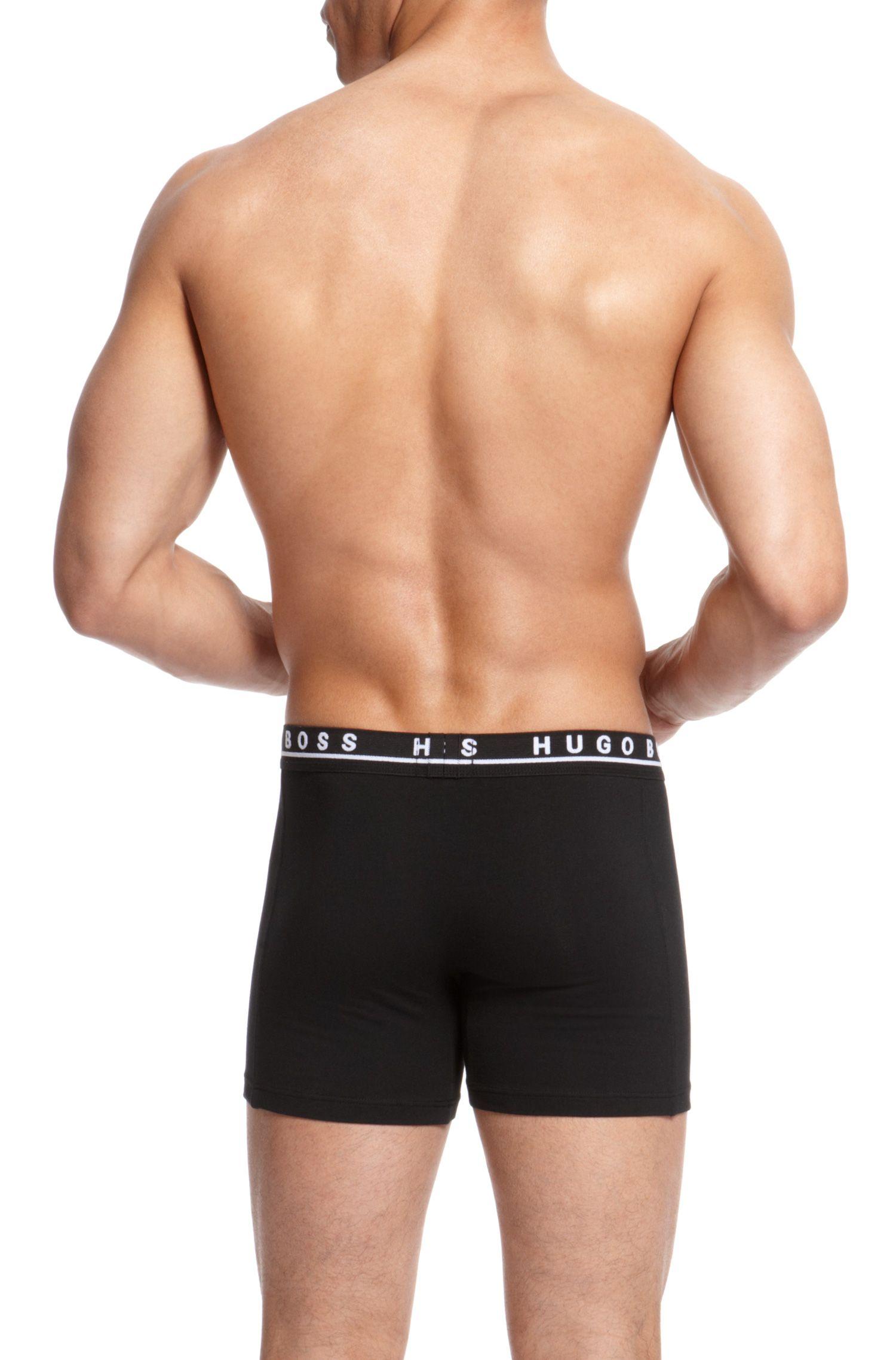 'Cyclist 3P BM' | Stretch Cotton Boxer Brief, 3-Pack
