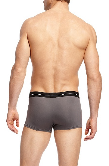 'Boxer EW BM' | Microfiber Trunk, Open Grey
