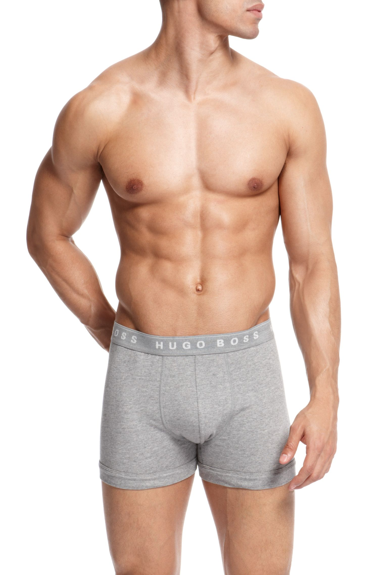 'Boxer Brief 3P BM US' | Stretch Cotton Boxer Brief, 3-Pack
