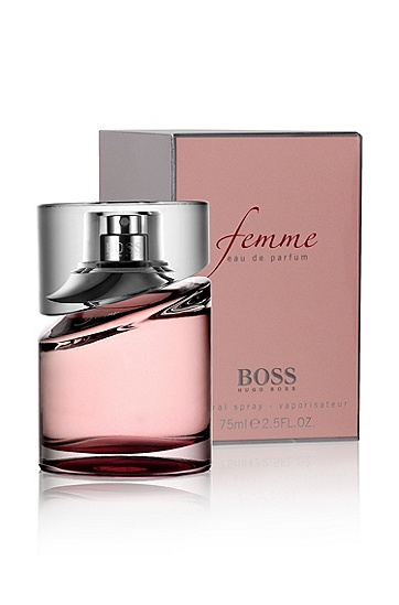 'BOSS Femme' | 2.5 oz (75 mL) Eau de Parfum, Assorted-Pre-Pack