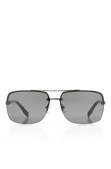 'Sunglasses' | Gunmetal Frame Sunglasses, Assorted-Pre-Pack