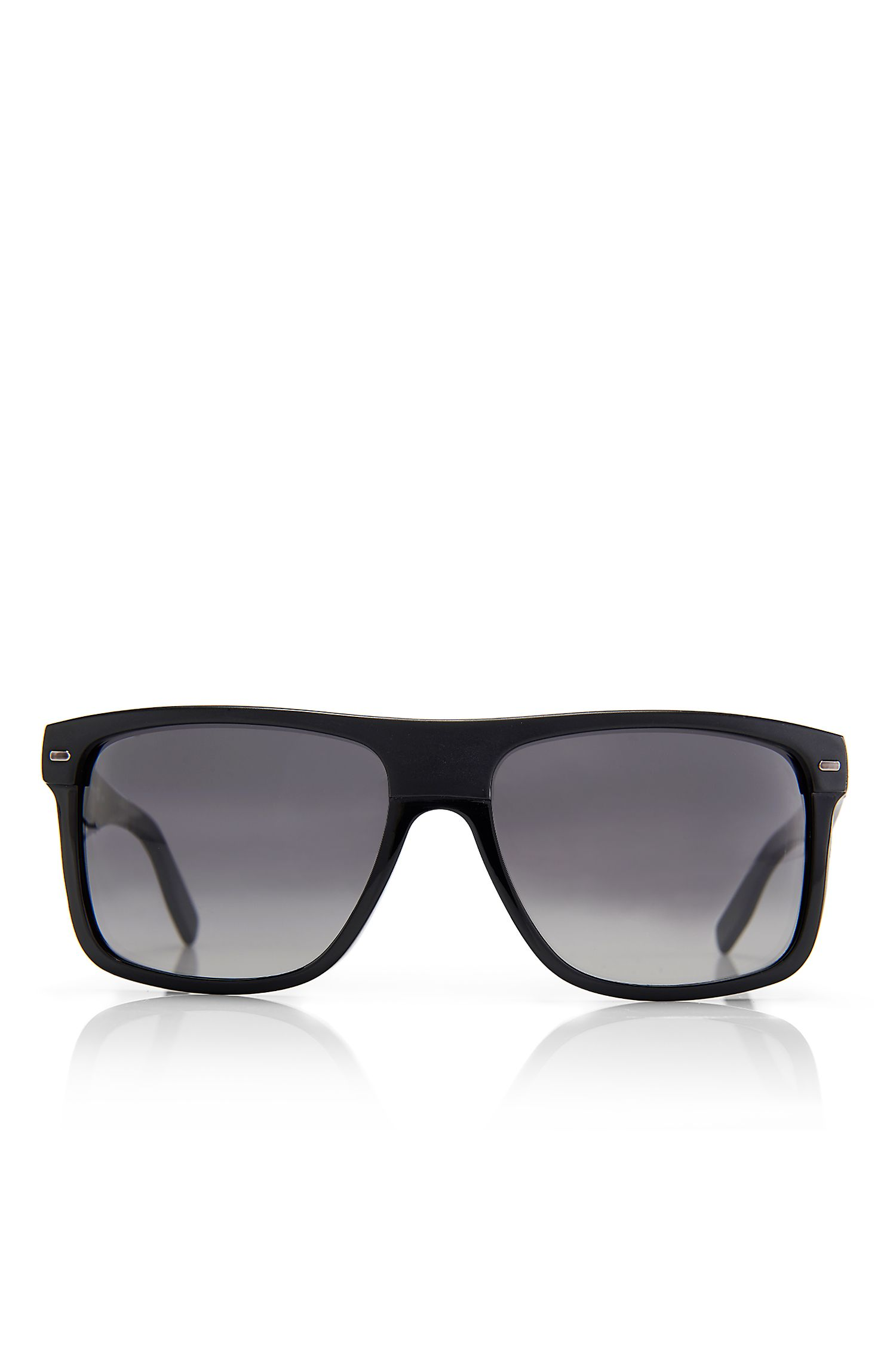 'Sunglasses' | Plastic Flat Top Frame Sunglasses