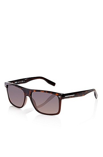 'Sunglasses' | Plastic Flat Top Frame Tortoiseshell  Sunglasses, Assorted-Pre-Pack