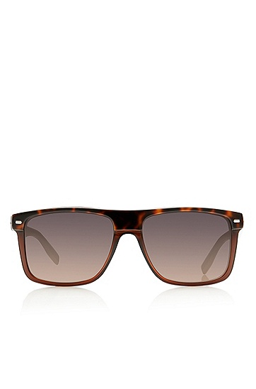 'Sunglasses' | Plastic Flat Top Frame Tortoiseshell  Sunglasses, Assorted-Pre-Pack