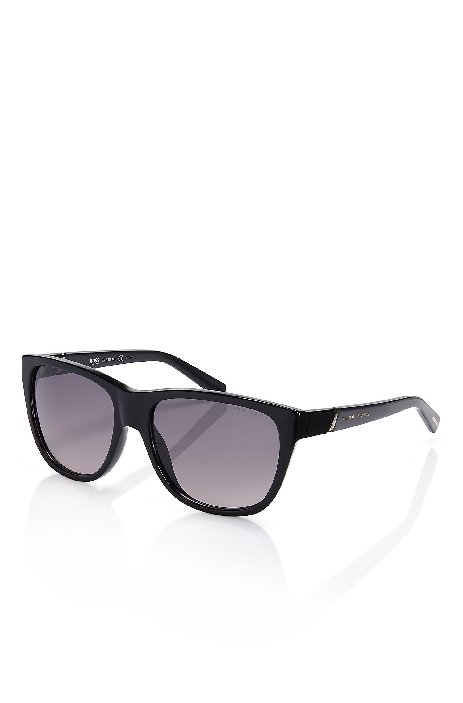 'Sunglasses' | Black Solid Frame Sunglasses