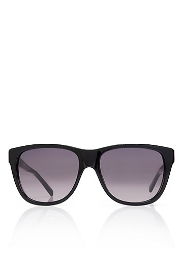 'Sunglasses' | Black Solid Frame Sunglasses, Assorted-Pre-Pack