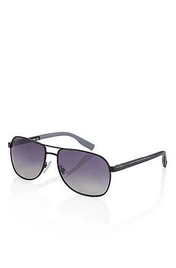 'Sunglasses' | Matte Black Frame Polarized Sunglasses, Assorted-Pre-Pack