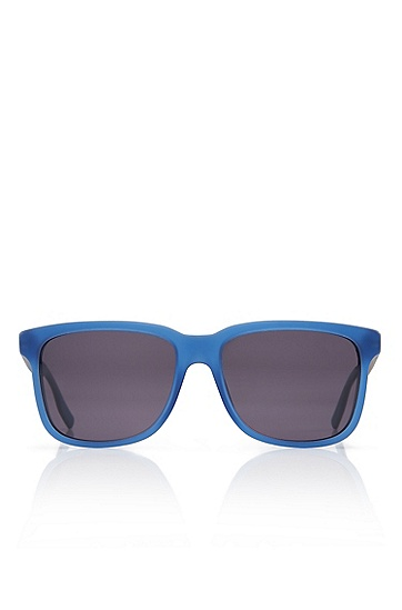 'Sunglasses' | Silver and Blue Polarized Sunglasses , Assorted-Pre-Pack