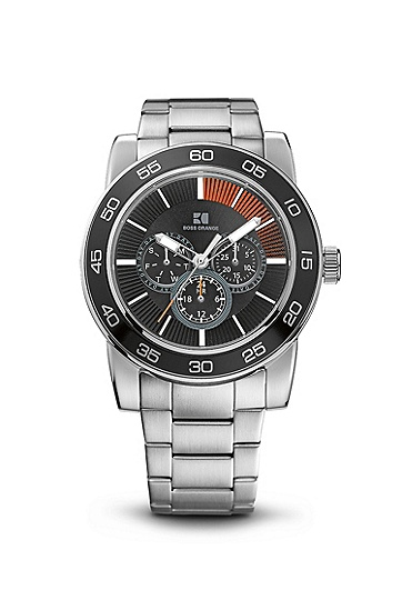 'HO303' | Chronograph Stainless Steel Bracelet Strap Watch , Assorted-Pre-Pack