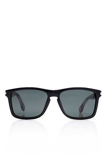 'Sunglasses' | Solid Black Frame Sunglasses, Assorted-Pre-Pack