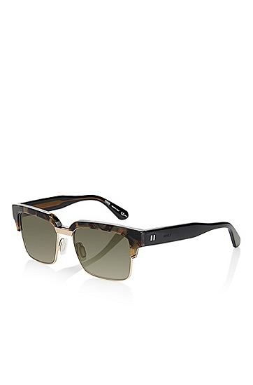 'Sunglasses' | Dark Havana Statement Brow Sunglasses, Assorted-Pre-Pack