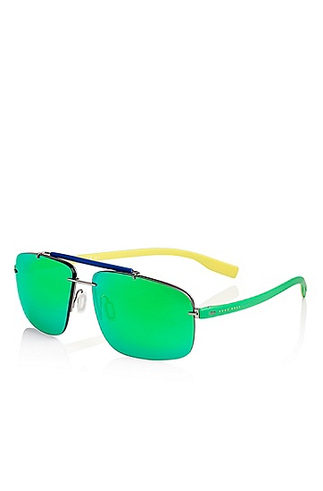 'Sunglasses' | National colors sporty sunglasses , Assorted-Pre-Pack