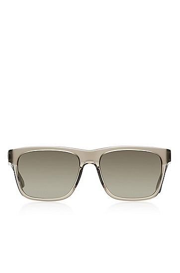 'Sunglasses'   Brown Rectangular Acetate Sunglasses, Assorted-Pre-Pack