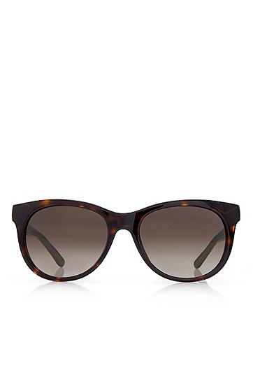 'Sunglasses' | Havana Rounded Cateye Sunglasses, Assorted-Pre-Pack