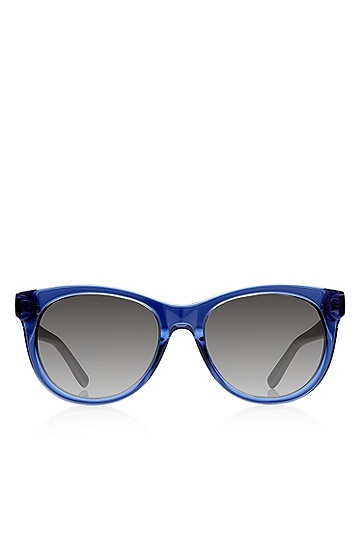 'Sunglasses' | Blue Rounded Cateye Sunglasses , Assorted-Pre-Pack