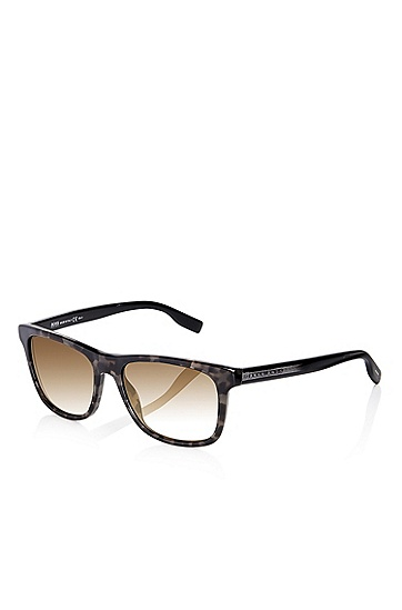 'Sunglasses' | Havana Grey Shaded Temple Sunglasses , Assorted-Pre-Pack