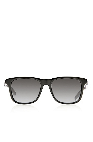 'Sunglasses' | Black Shaded Temple Sunglasses , Assorted-Pre-Pack