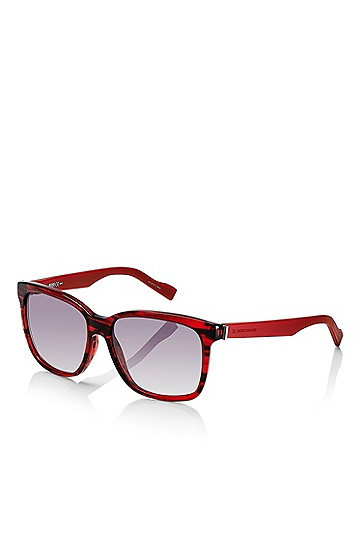 'Sunglasses' | Red Rectangular Sunglasses, Assorted-Pre-Pack