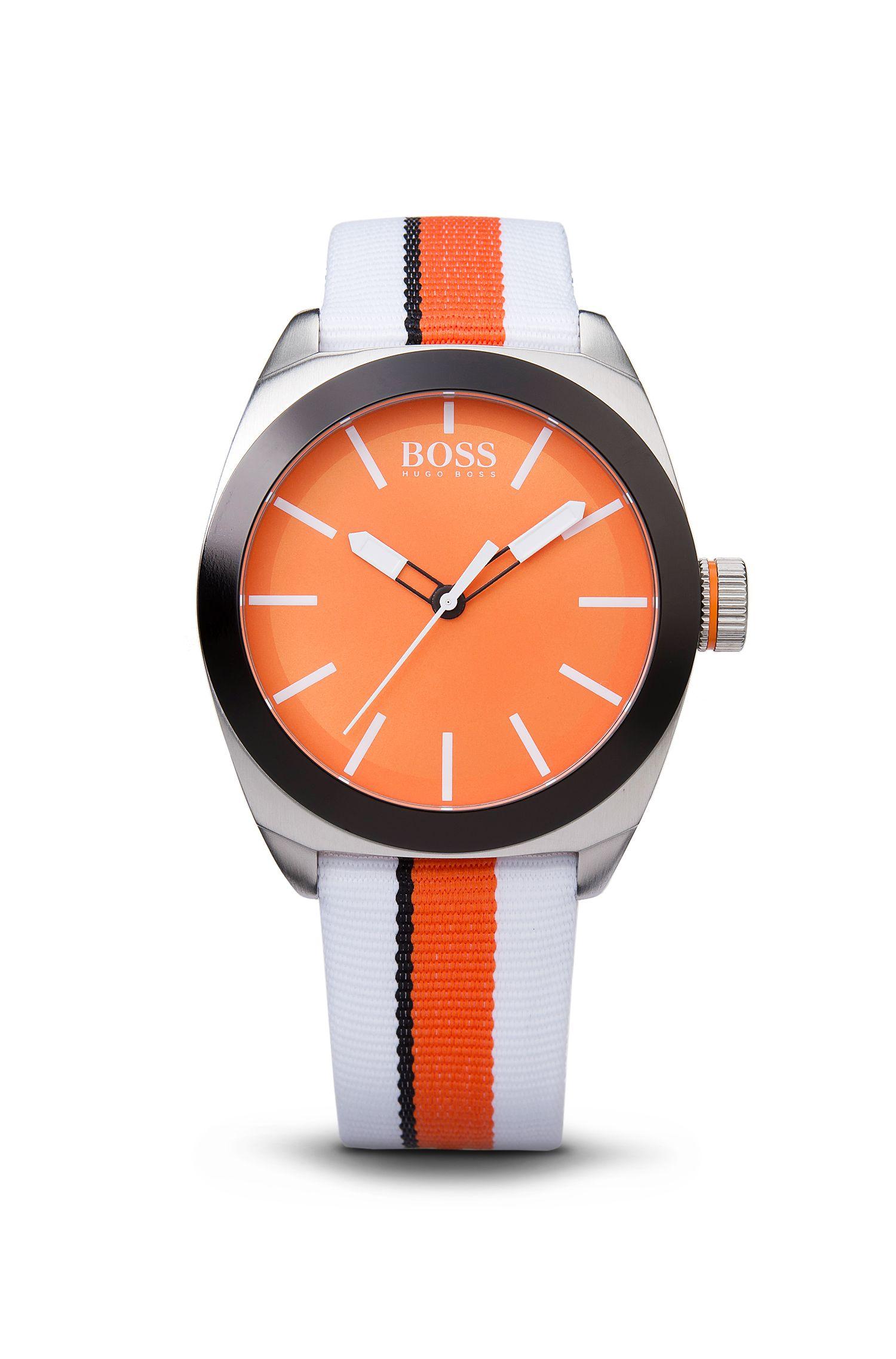 '1512997' | Woven Nylon Strap Watch