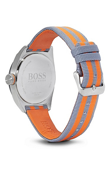'1512998'   Woven Nylon Strap Watch, Assorted-Pre-Pack