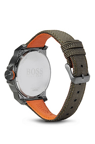 '1513009' | Woven Nylon Strap Watch, Assorted-Pre-Pack