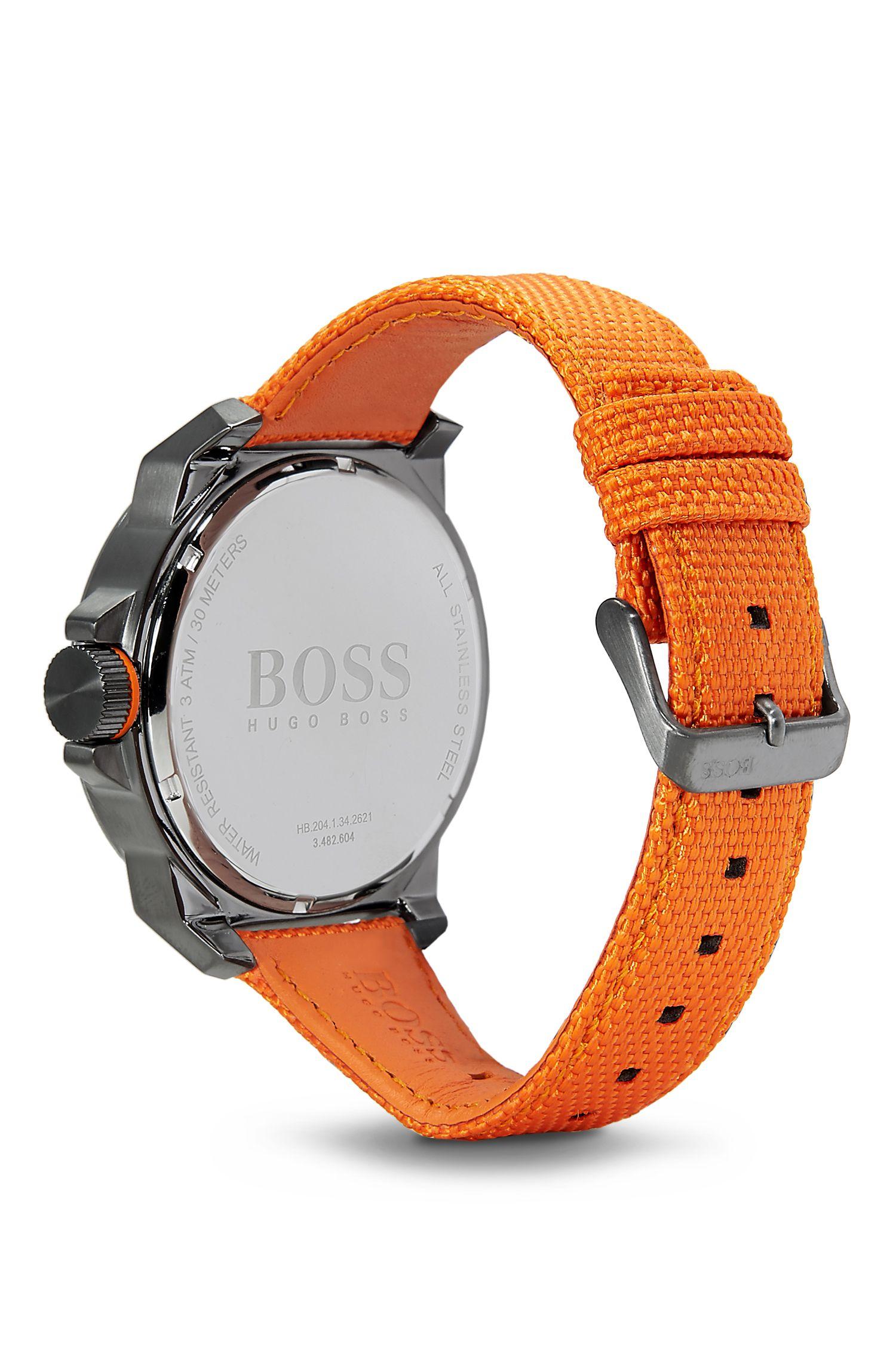 '1513010' | Woven Nylon Strap Watch