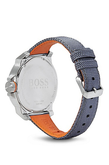 '1513013' | Chronograph Woven Nylon Strap Watch, Assorted-Pre-Pack