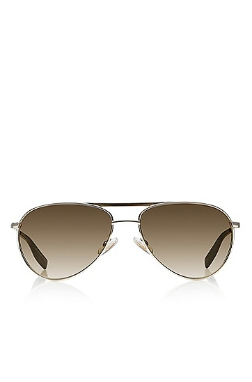 'Sunglasses' | Gold Matte Aviator Sunglasses, Assorted-Pre-Pack