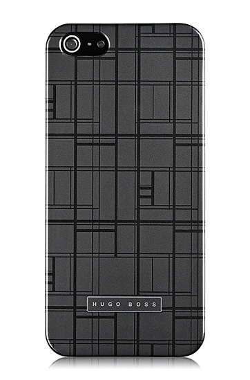 'Catwalk IP5 Grey' | Scratch Resistant iPhone 5 Case , Dark Grey