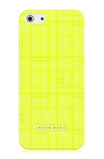 'Catwalk IP5 Yellow' | Scratch Resistant iPhone 5 Case , Yellow
