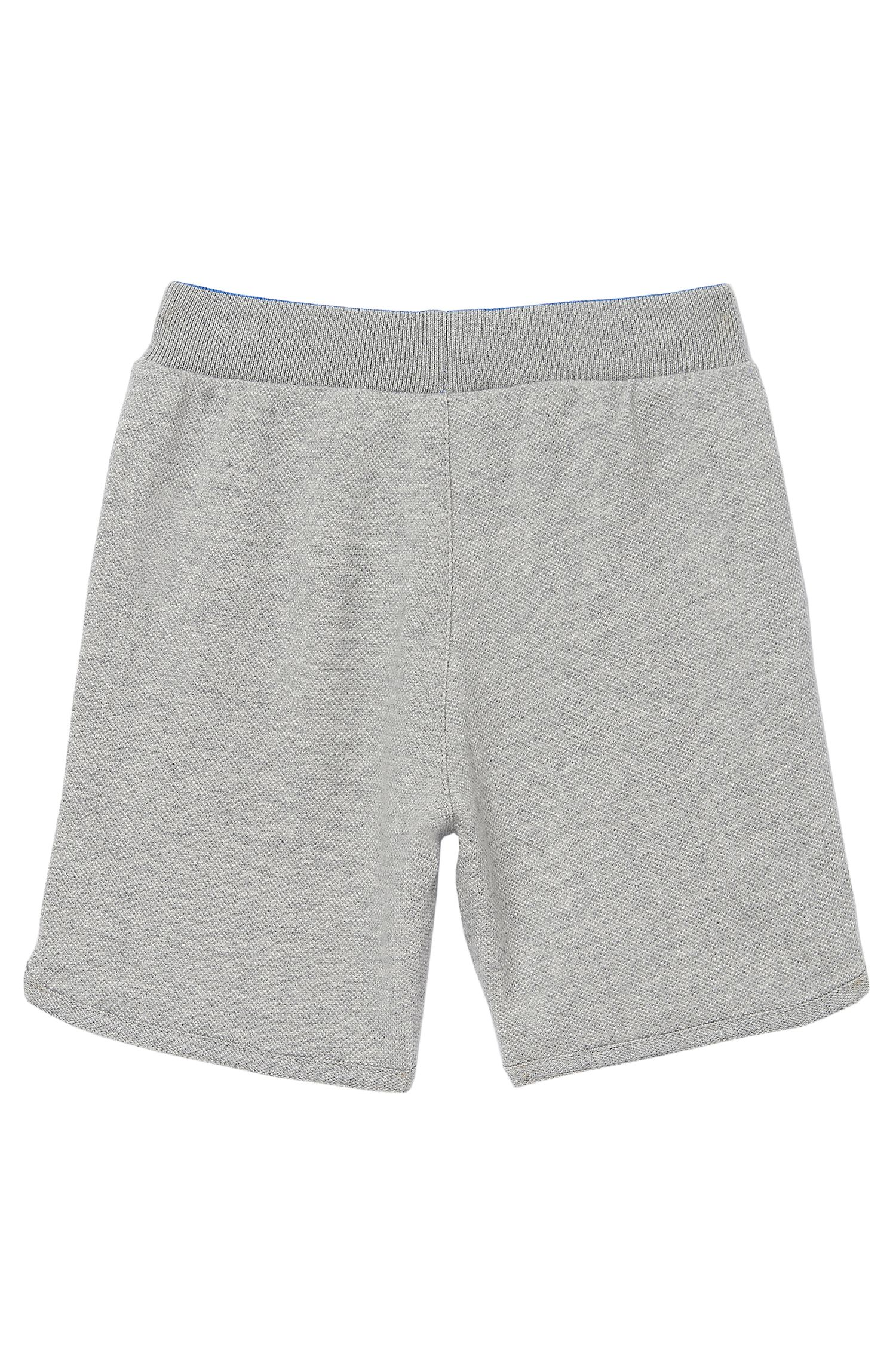 'J04142' | Toddler Cotton Piqué Fleece Sweat Shorts