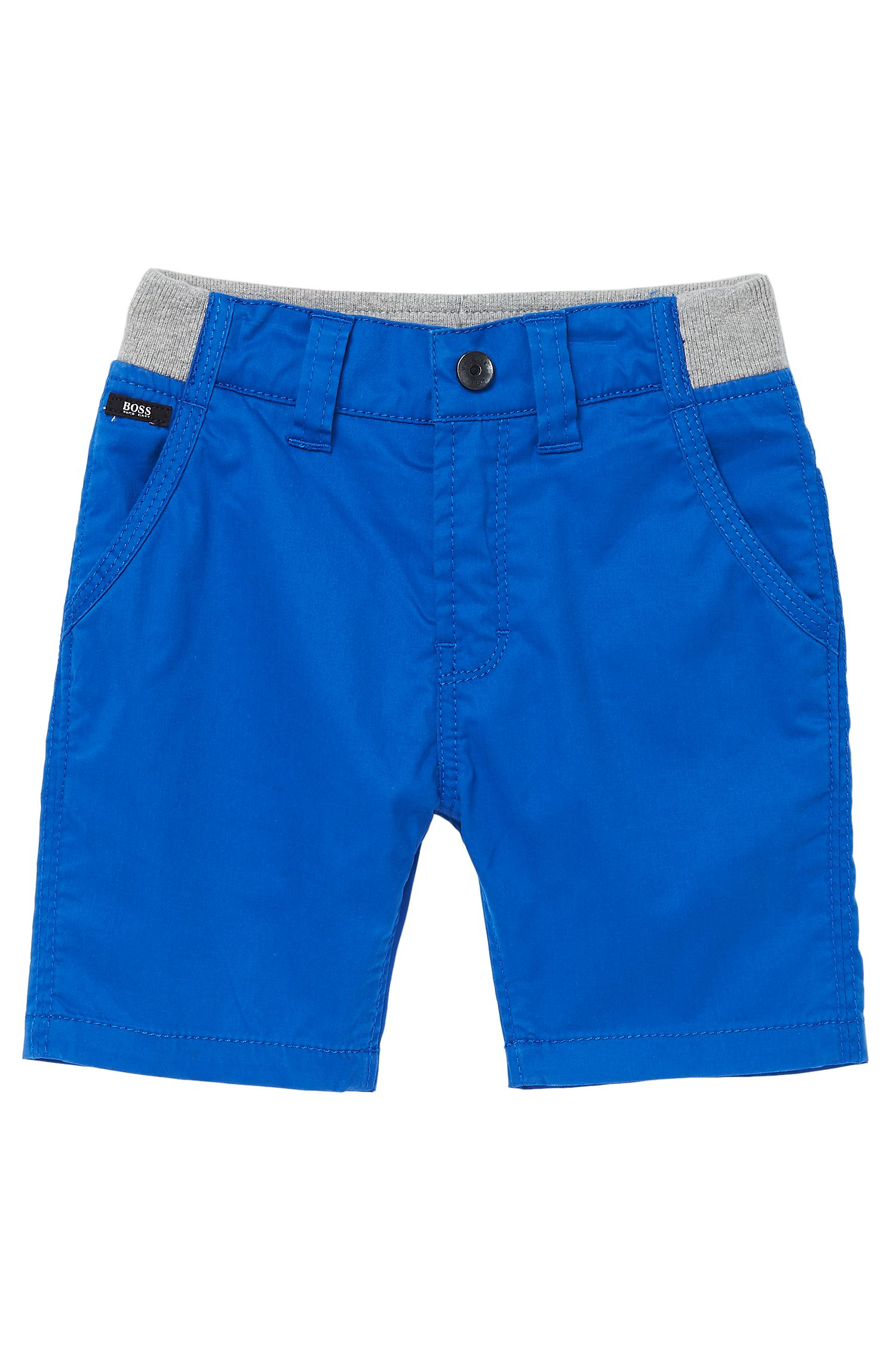 'J04146' | Toddler Cotton Twill Bermuda Shorts