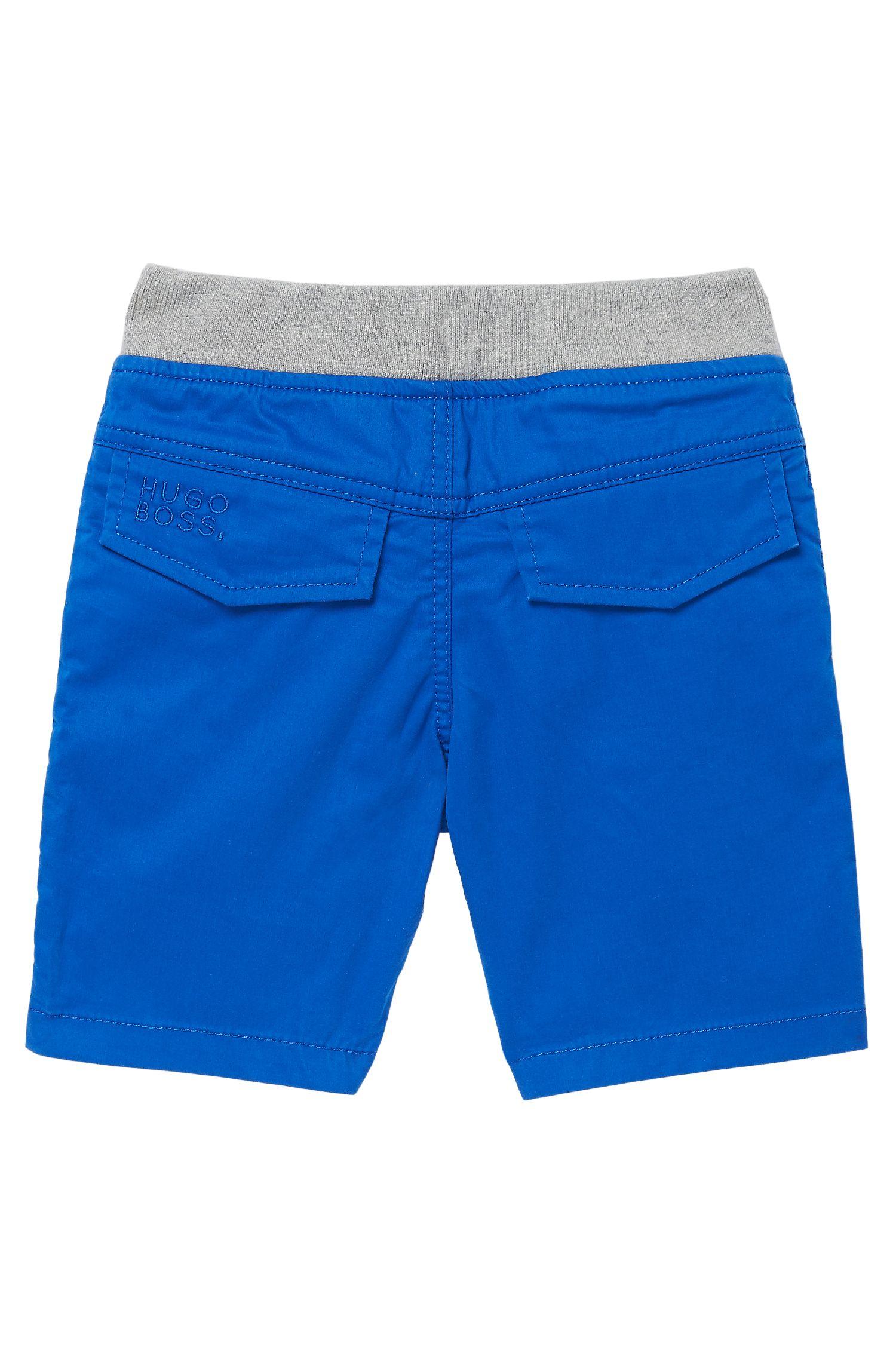 'J04146' | Toddler Cotton Twill Bermuda Shorts