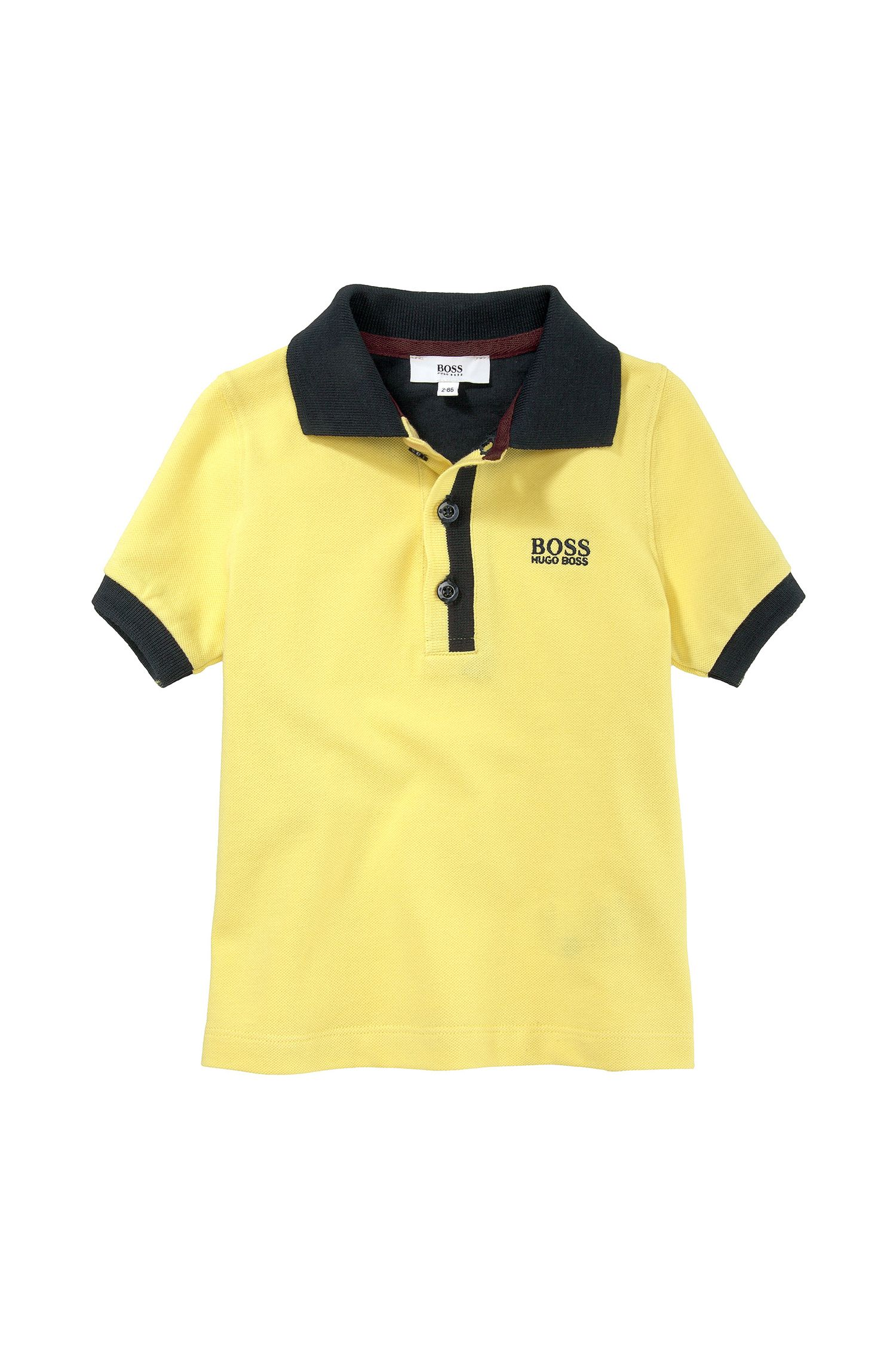 'J05285' | Toddler Cotton Piqué Polo Shirt